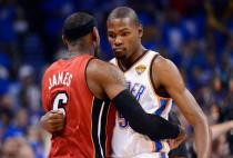 #1 and #2 Small Forwards: LeBron James and Kevin Durant