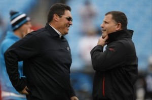 Ron Rivera, Greg Schiano