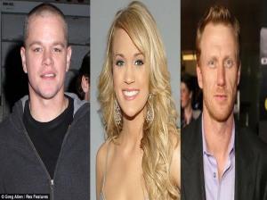 From Left: Damon, Underwood, McKidd