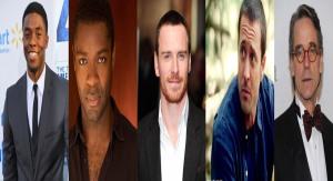 From Left: Boseman, Oyelowo, Fassbender, O'Loughlin, Irons