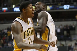 NBA: New Orleans Hornets at Indiana Pacers