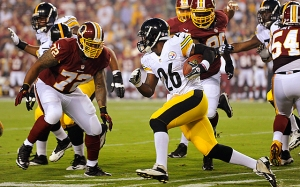 NFL: Preseason-Pittsburgh Steelers at Washington Redskins