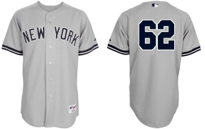 Yankees-62-Joba-Chamberlain-Grey-mlb-Jersey