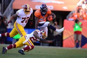 Denver Broncos vs. Washington Redskins