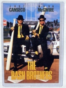 The Bash Brothers: Jose Canseco and Mark McGwire.
