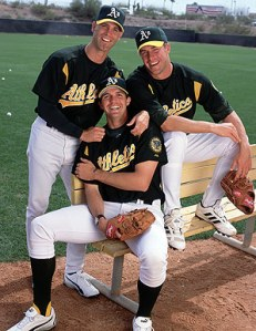 The Moneyball Big 3. Mulder, Hudson, and Zito