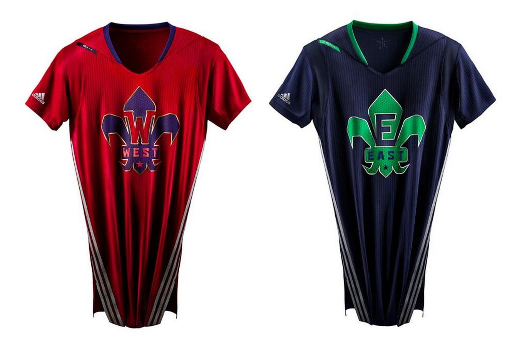 ac4c5174982 NBA All-Star Game 2014 Jerseys Revealed. Posted by Idalia Topete · via   DarrenRovell of ESPN