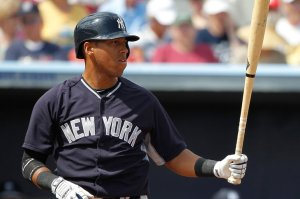 MLB: Spring Training-New York Yankees at Tampa Bay Rays